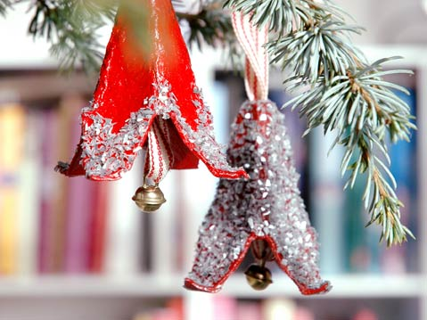 Christmas bell DIY